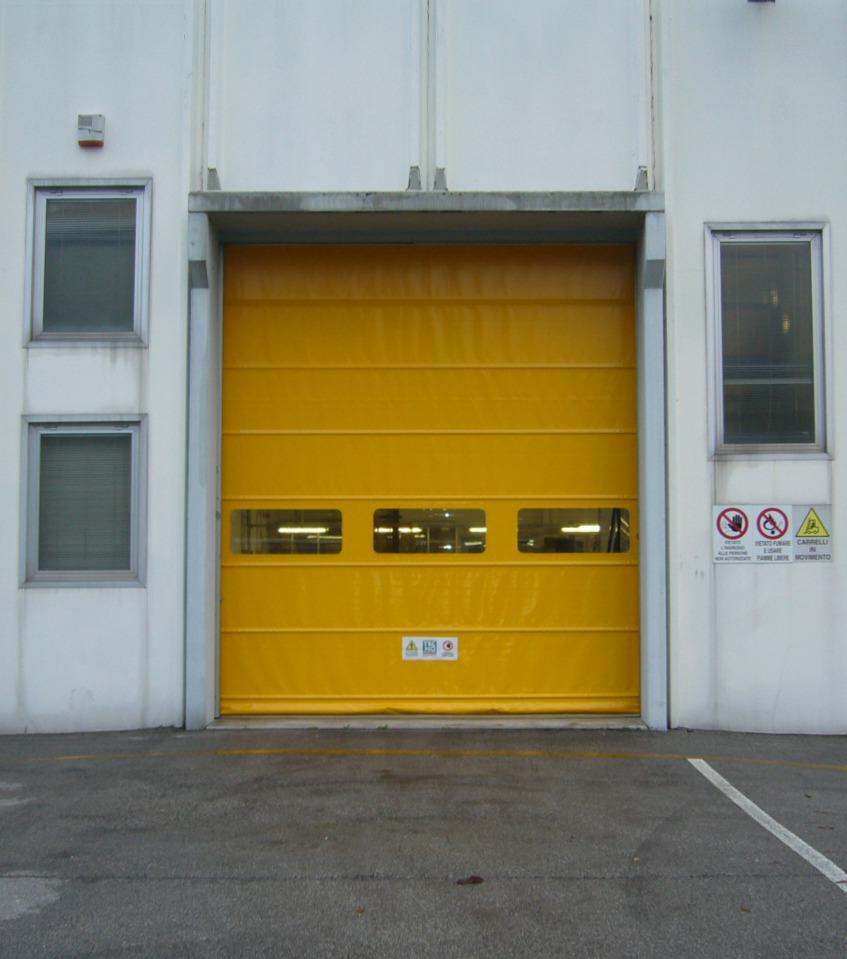 Porta rapida gialla