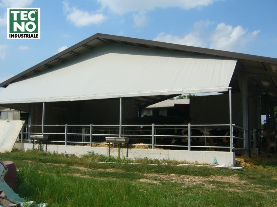 Prolungamento tettoia_ PVC shelter