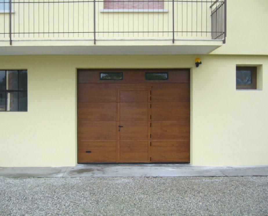 portone sezionale residence lignum