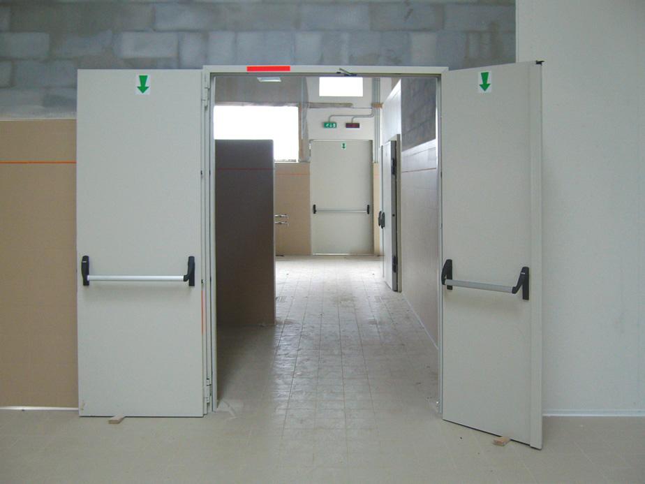 Porte tagliafuoco tecnoindustriale - Tipi di porta ...