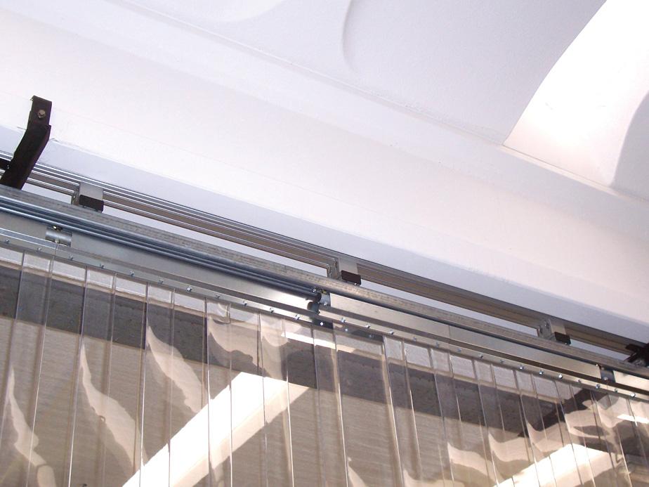 Stripe — Barriere a strisce in PVC