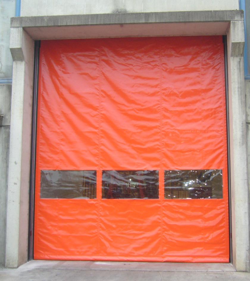 Zip arancione